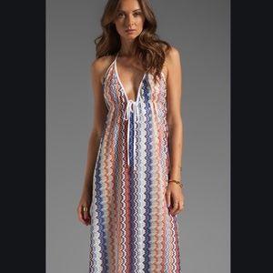 Karina Grimaldi Multicolored Maxi Dress